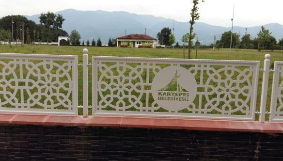 Er Meydanında Dekoratif Duvar Çalışması