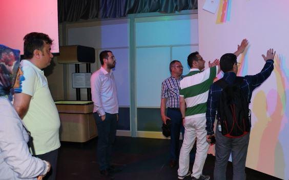 Kocaeli Bilim Merkezinde öğretmenlere yerinde eğitim