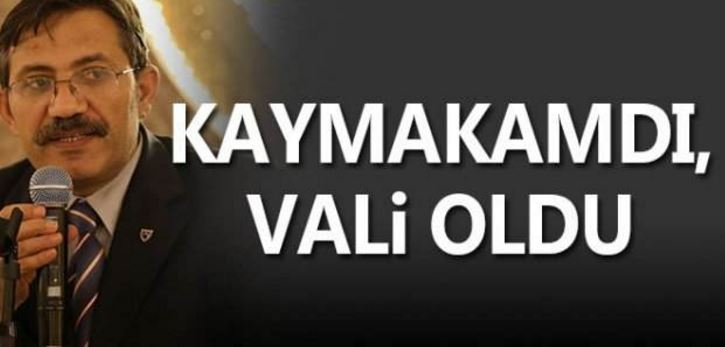 "Kocaeli'de ""O"" Kaymakam Vali Oldu"