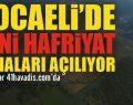 Kocaeli'de yeni hafriyat sahaları açılıyor