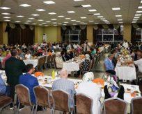 Belediye personeli iftar sofrasında bir araya geldi