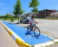 Kartepe´de masmavi bisiklet yolları