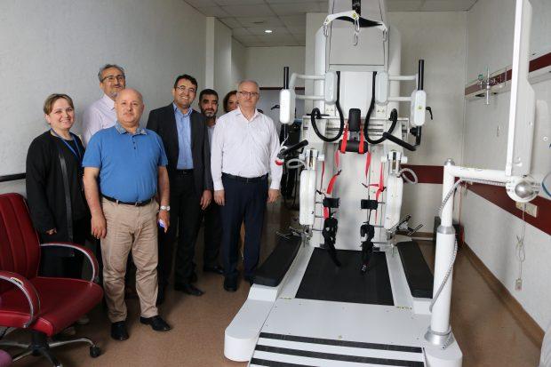 Farabi'de Robotik Yürüme Cihazı