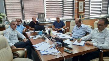 Kırşehir Ticaret ve Sanayi Odası ile istişarelerde bulundular