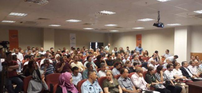 AFAD'tan sel sonrası bilgilendirme toplantısı