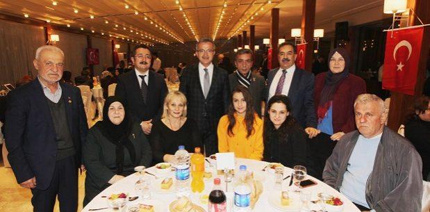 Kaymakam Güler ve Başkan Köşker Şehit ailelerini ağırladı