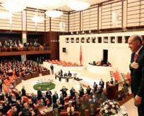 Erdoğan yemin törenine katıldı