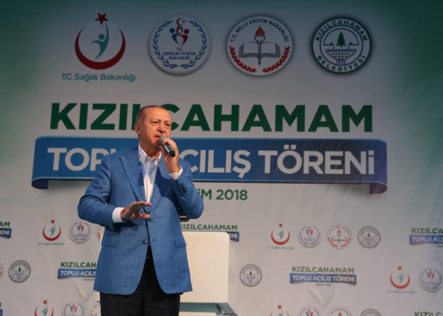 """""""Türkiye, millî kalkınma hamlesinden asla vazgeçmeyecektir"""""""