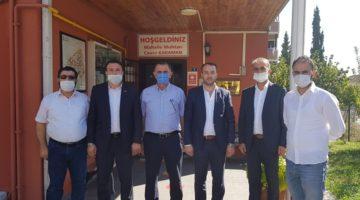 Türel'den Muhtar Karaman'a ziyaret