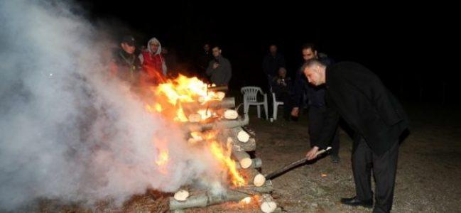 Kamp ateşini Sezer yaktı