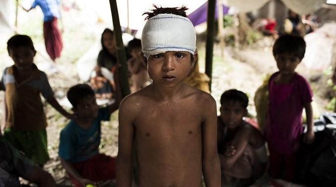2017'de çocuklar dehşet verici boyutlarda saldırıya maruz kaldılar.