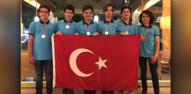 Genç Bilim İnsanları 7 Madalya Kazandırdı