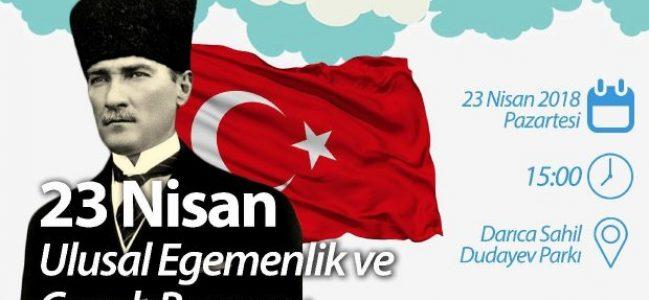 CHP DARICA'DAN 23 NİSAN UÇURTMA ŞENLİĞİ.