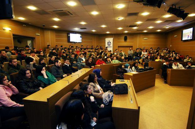 Stajyerlere eğitim semineri