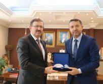 Genel Sekreter Bayram,Başkan Köken'i Ziyaret Etti