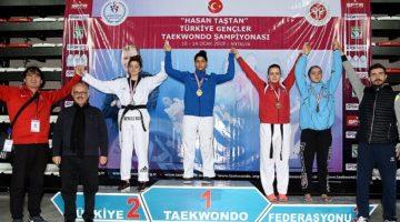 Tekvandolcular Türkiye Şampiyonası'nda kürsüye çıktı