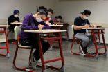 Sınavlarda coronavirüs kuralları uygulandı
