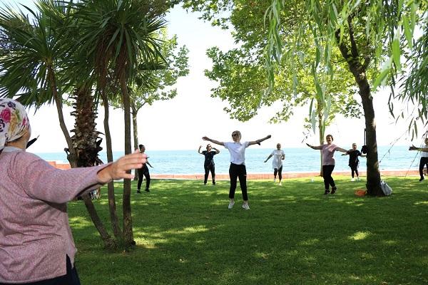 Normalleşme İle Birlikte Egzersizler Açık Havada