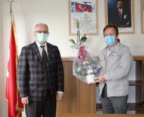 Ergüney'den Polat'a Hayırlı Olsun Ziyareti