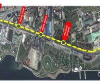 SEKA Park- Plajyolu tramvay hattında yer teslimi yapıldı.