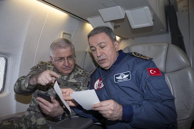 """""""Hem Afrin'de operasyon yapabilecek hem de aynı anda Ege'yi kontrol edebilecek güce sahibiz."""""""