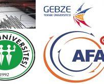 Kocaeli ve Gebze Teknik Üniversitesinde Deprem Çalıştayları yapılacak.