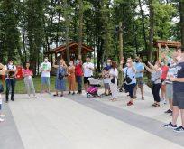 İşitme engelli kamp severler Ormanya'yı gezdi
