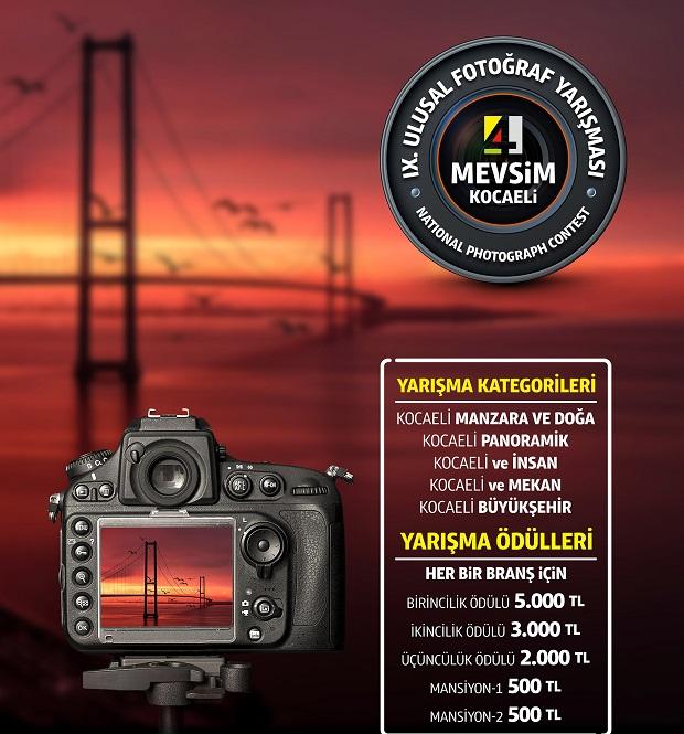 4 mevsim Kocaeli fotoğraf yarışması