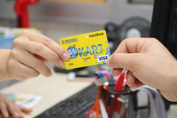 Ramazan'da 41 kartlara 1 Milyon 628 Bin TL yüklendi