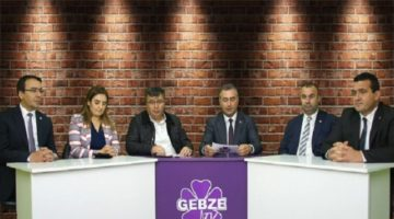CHP Milletvekilleri Gebze TV' de