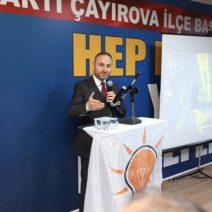 AK Parti Çayırova'da Adaylar Konuştu