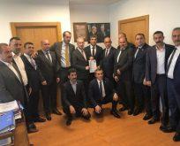 Bayrak Başvurusunu MHP Genel Merkezine Yaptı