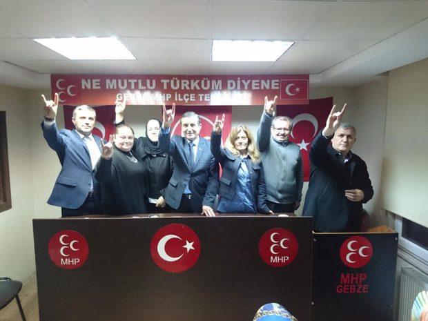 MHP Gebze'de Çakır Tek Aday