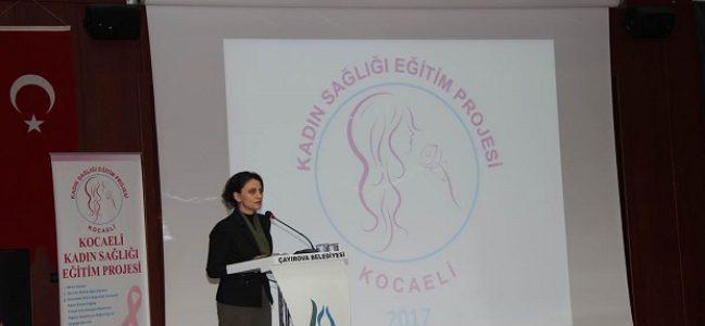 """""""Kadın Sağlığı Eğitim Projesi"""" Çayırova Toplantısı Yapıldı"""
