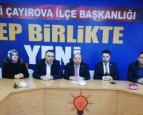 Çayırova AK Parti'de Yönetim Açıklandı