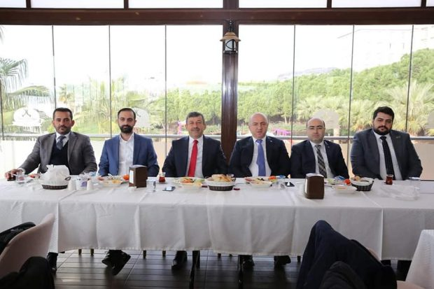 Darıca'da Başkanlar Basınla Buluştu