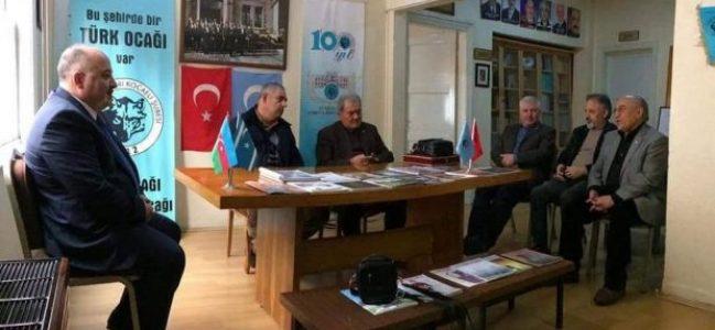 Türk ocağında Başkan değişti
