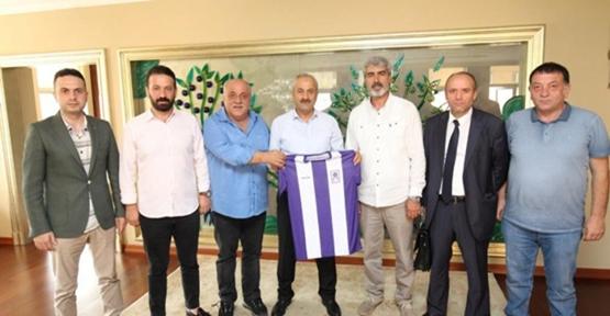 Gebzespor yönetiminden Büyükgöz'e ziyaret