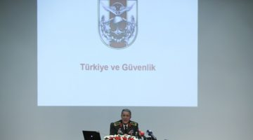 """Akar'ın Gündemi """"Türkiye ve Güvenlik"""""""