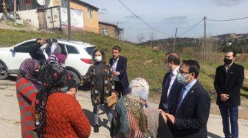 Sazlıdere 'ye CHP Çıkarması