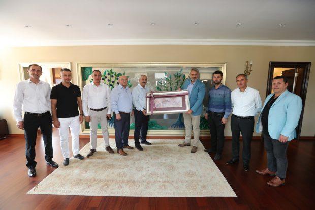 ASKF Başkanı Aydın, Büyükgöz'ü ziyaret etti