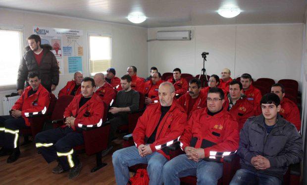 17 bin kişiye yangın eğitimi