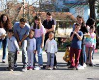 Balören Köy okuluna hediyelerle ziyaret