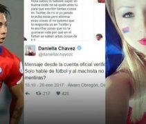 Daniella Chavez , Eduardo Vargas İle Fena Kapıştı