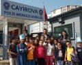 Bilgievi Öğrencileri 10 Nisan'da Polis Abla ve Abilerini Unutmadılar