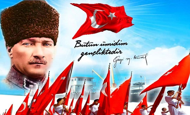 """""""Türkiye sizlerin omuzlarında yükselecektir"""""""