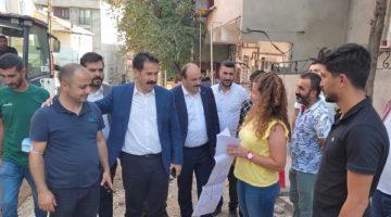 Vekil Yaman Dilovası'nda vatandaşlarla buluştu