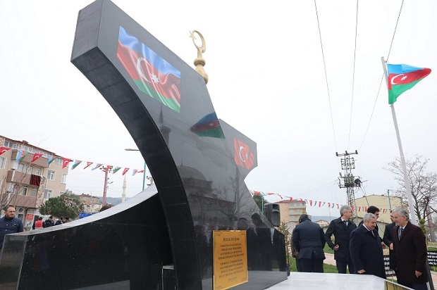 Hocalı Şehitleri Parkı ve Anıtı Dualarla Açıldı