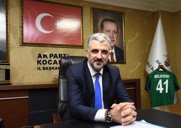 """Eryarsoy """"Provokatif eylemlerle karşılaşıyoruz"""""""