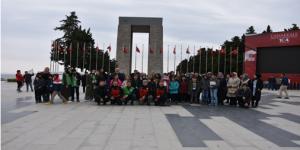 58 Yetim Çanakkale Gezisinde